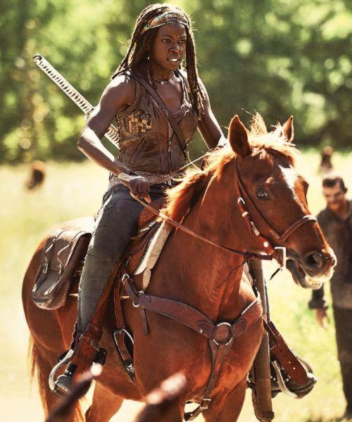 THE WALKING DEAD SEASON 4, Michonne