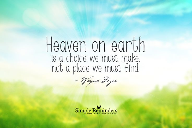 When Heaven And Earth Changed Places Quotes