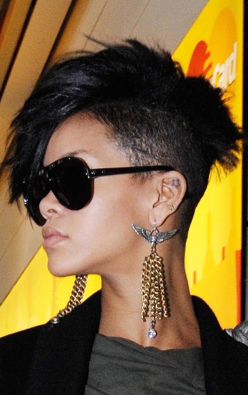 Rihanna Mohawk Create Life Want Live