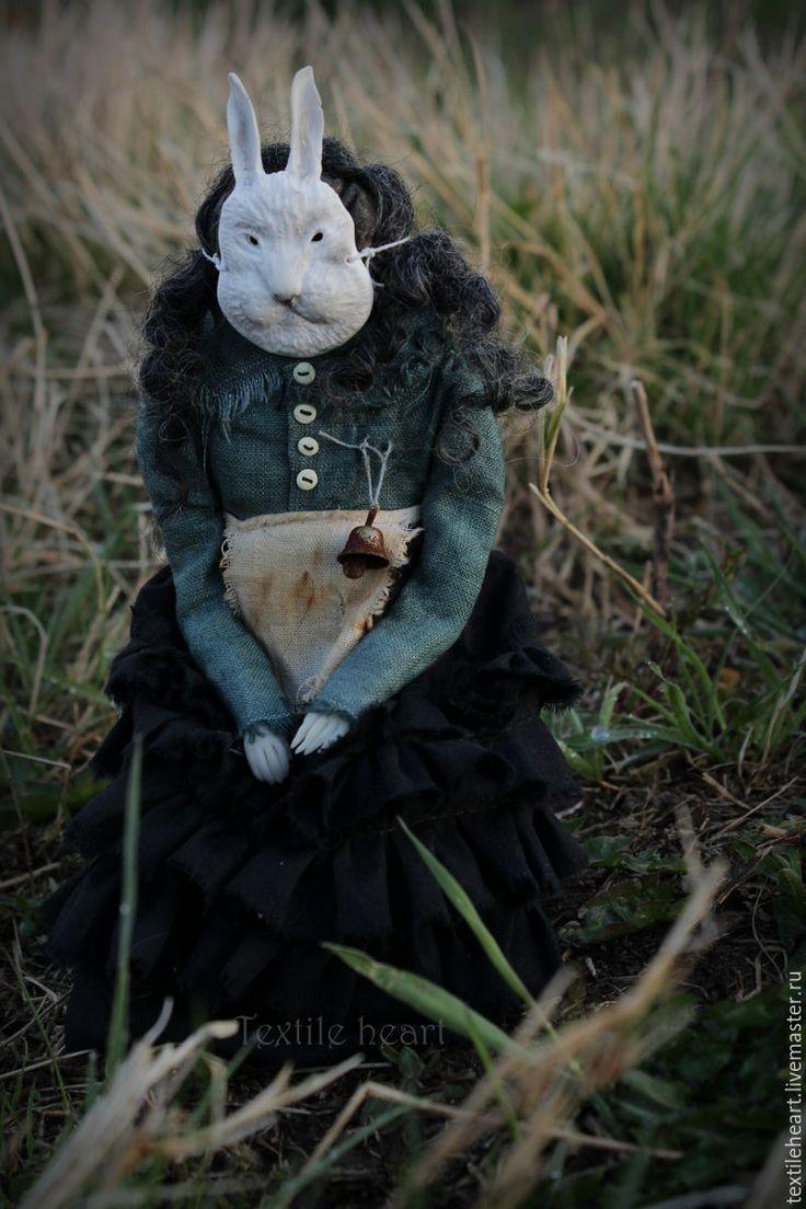 Купить Руна - морская волна, чердачная кукла, страшные куклы, антропоморфные существа, авторская кукла