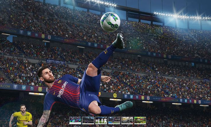 "For ""Pro Evolution Soccer 2018"" video game news, review, cheat codes, images, videos, rating and more visit: GameRetina.com"