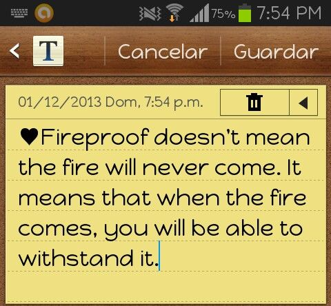 love it ♥ fireproof quote:) | Quotes...Sayings | Pinterest ...