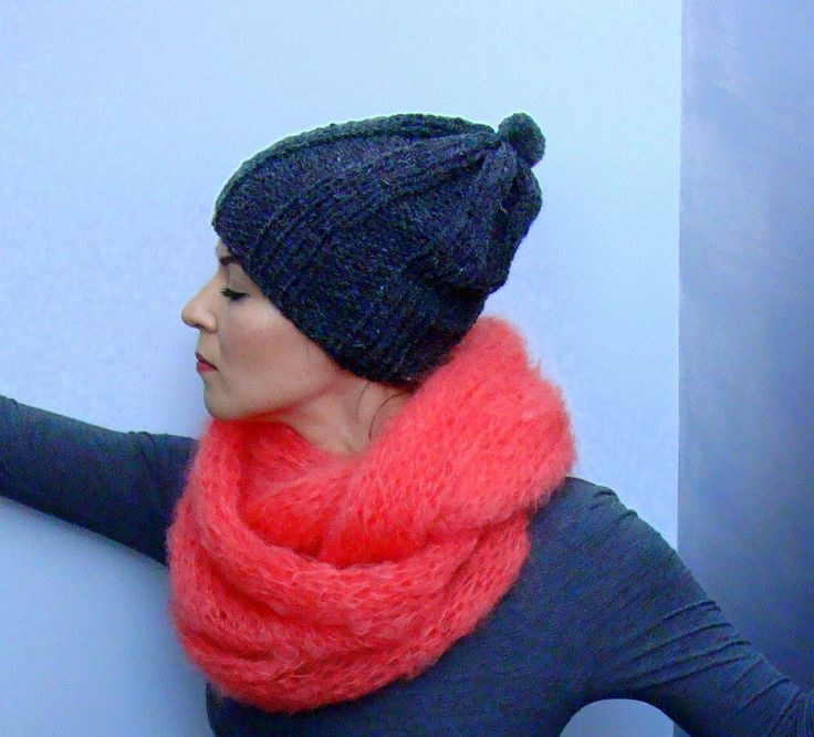 Nudakillers - mohair, snud, neck warmer, handmade, knitted