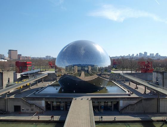 Paris,France la Géode. It's a Science Museum (Biggest one in Europe) Miss this place, lived just around the corner from it during the foreign exchange trip.