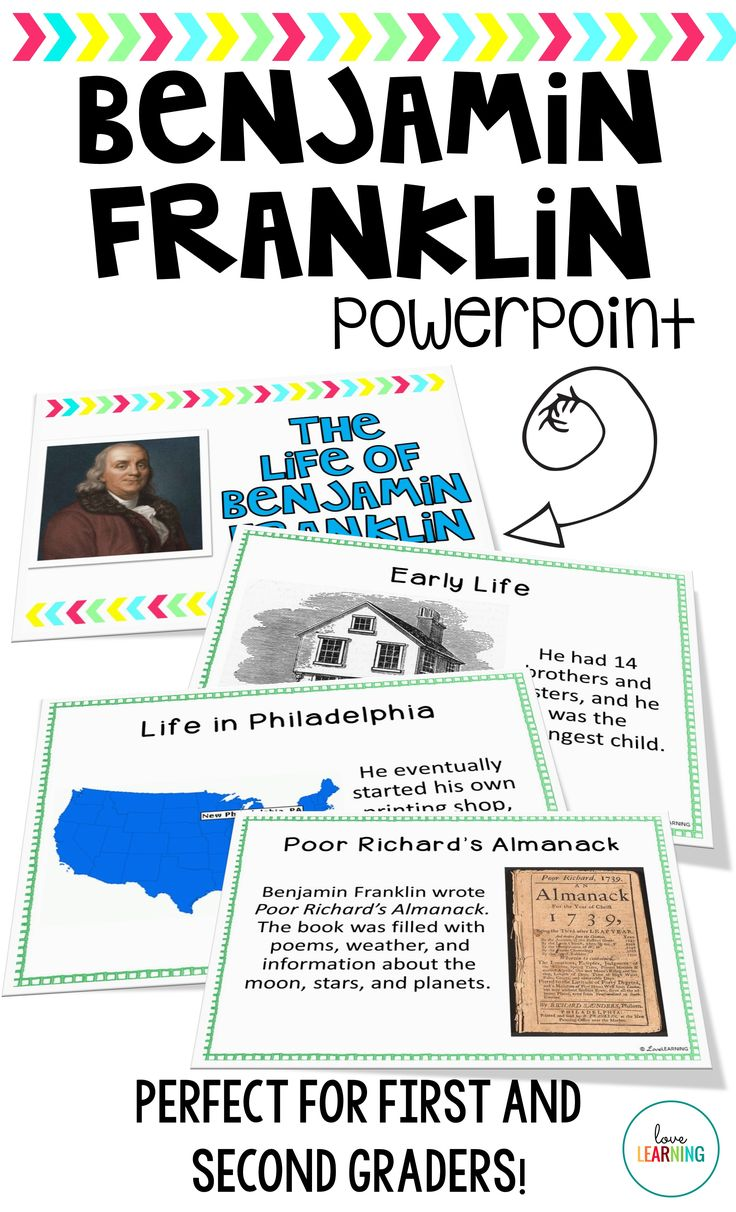 Benjamin Franklin PowerPoint Lesson Powerpoint lesson