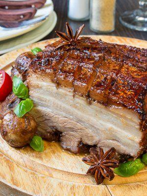 Запеченная свиная грудинка с китайскими специями - вкусные проверенные рецепты, подбор рецептов по продуктам, консультации шеф-повара, пошаговые фото, списки покупок на VkusnyBlog.Ru