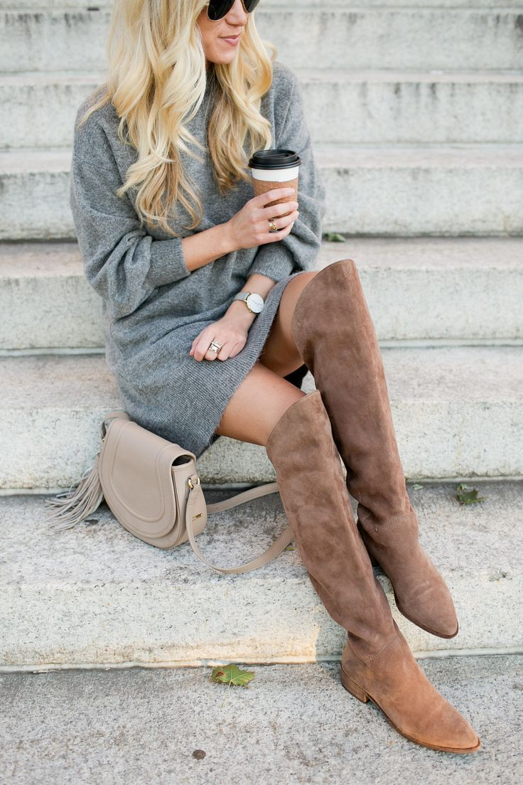Gray Sweater Dress - Style CuspStyle Cusp