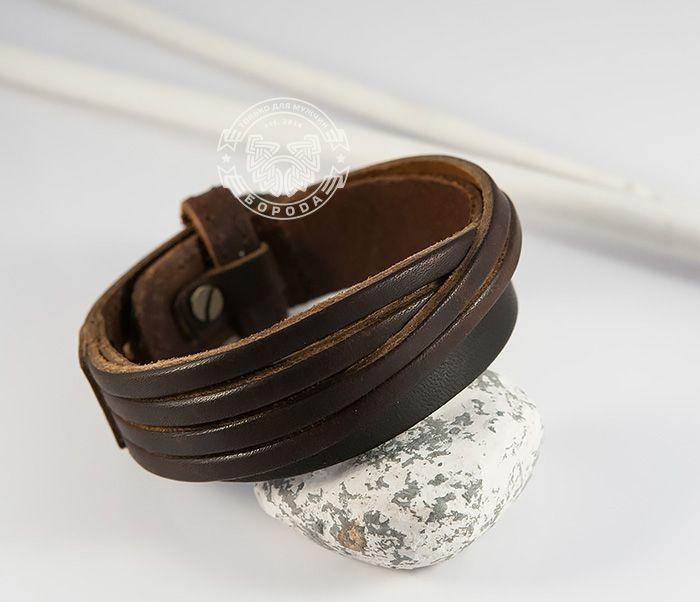 Стильный мужской браслет из натуральной кожи коричневого цвета. #boroda_land #bracelet  #voronezh #kaliningrad #boroda #браслет #браслет_из_кожи #мужской_браслет #ручная_работа #доставка_по_всему_миру #mensbracelet #mensaccessories #accessories