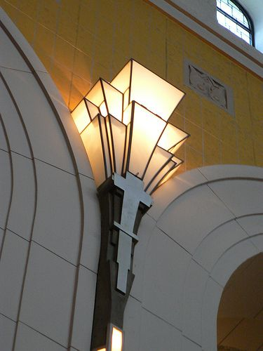 art deco cinema fluro lighting - Yahoo Image Search Results