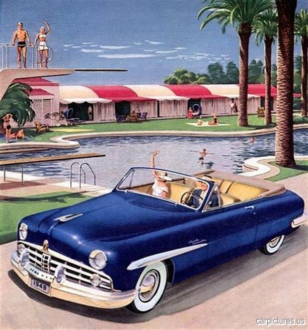 1000 Images About 1951 To 1959 Carz On Pinterest: 1000+ Images About Lincoln Classic Cars: 1940s On