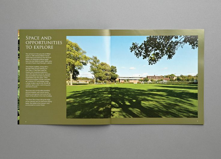 Junior Kings Prospectus- Opportunities - Carr Kamasa Design - London