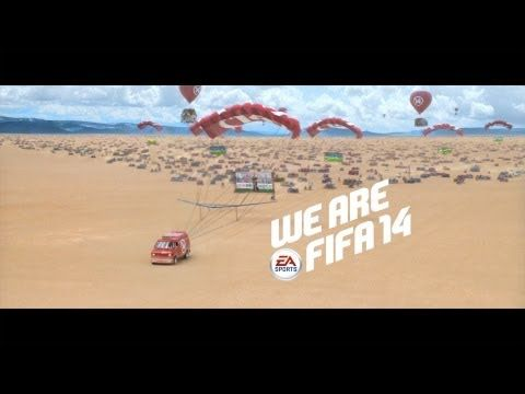 FIFA 14 TV Commerical - We Are FIFA 14 #advertising by Wieden + Kennedy Amsterdam