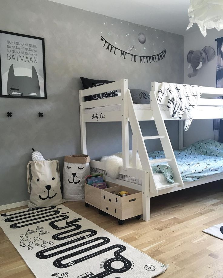 Bunk bed room. @littledreambird
