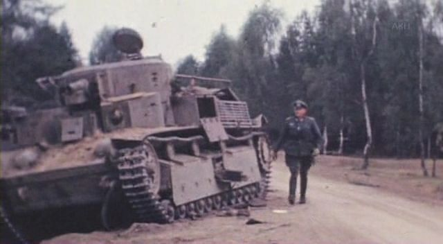 Wrecked soviet tank - eastern front ww2 - color photo, pin by Paolo Marzioli