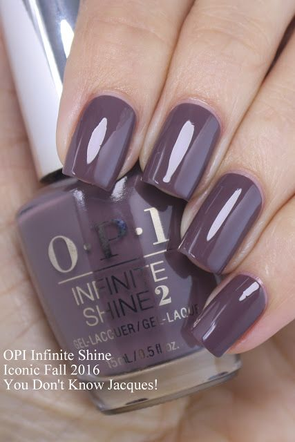 OPI Infinite Shine... You Don't Know Jacques