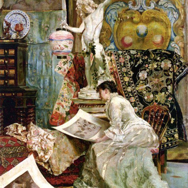Elegância e sofisticação dos salões de Paris   #Arte, #Iluminismo, #MarquesaRambouillet, #Paris, #Pintura, #Realismo, #SalõesParisienses, #TimGebhart