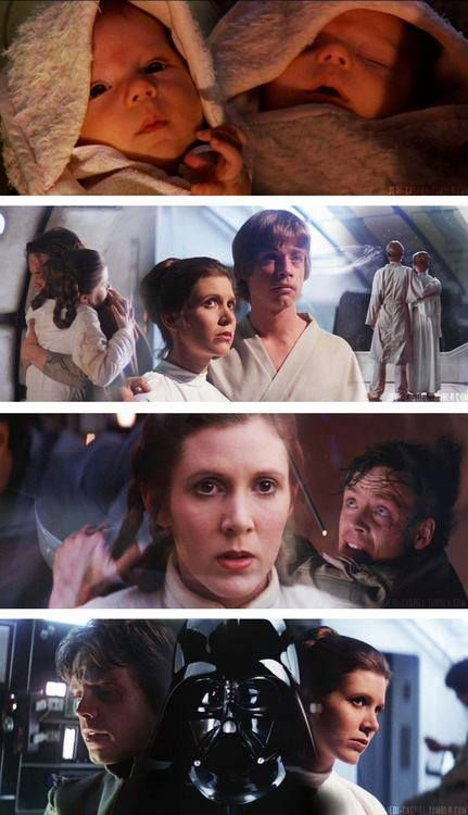 The force in the family...