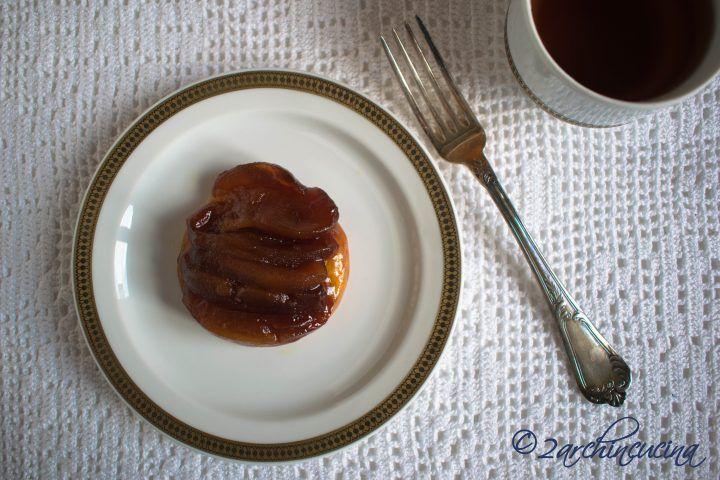 Tarte Tatin #Tarte #Tatin mini - Mini #torte di #mele alla francese