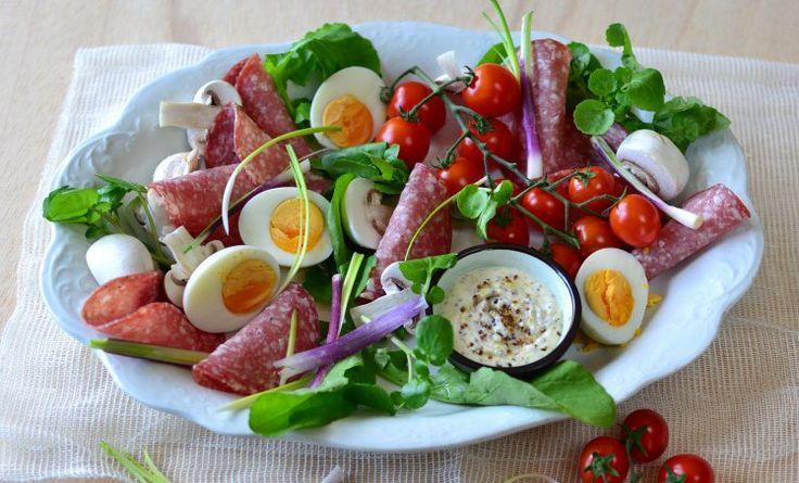Super simple Salami Salad