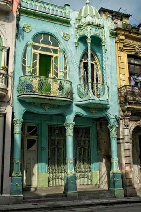 Let me give you a little peek into the wonderful colors and architecture of my homeland.