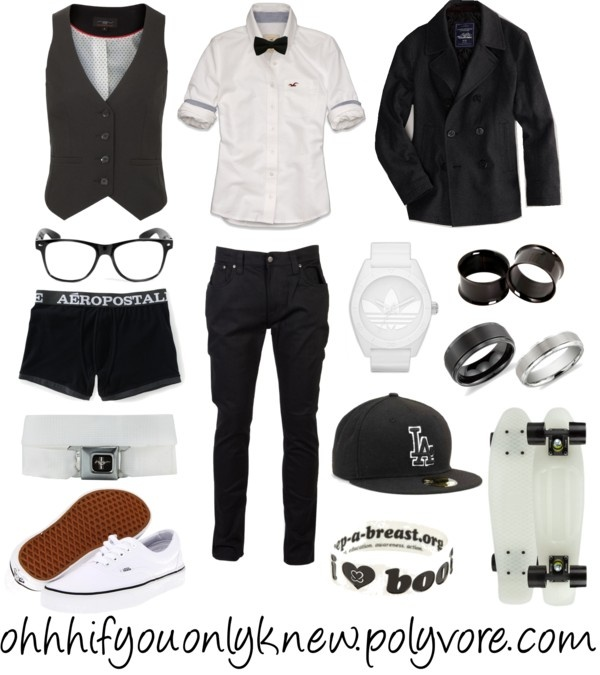 """""""Black and white"""" by ohhhifyouonlyknew on Polyvore"""