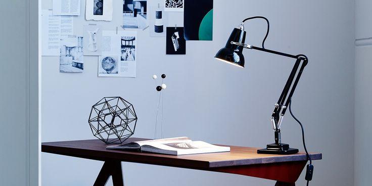 Lampe de table Originale 1227 Noir en laiton
