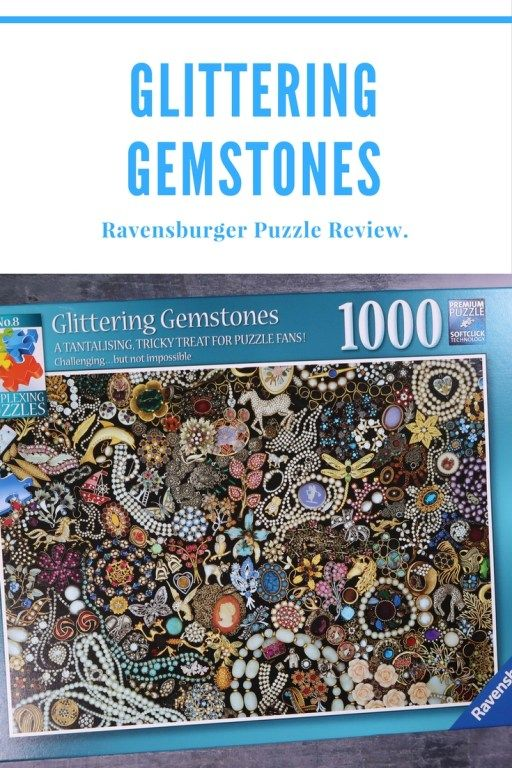 glittering gemstones puzzle