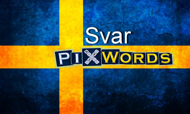 Svar PixWordsSvenska http://svar.pixwords.co.uk/