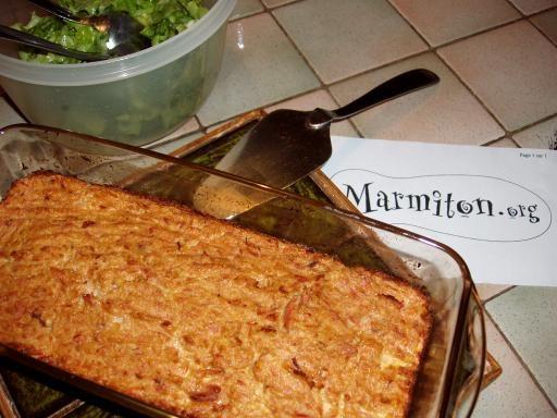 Recette Cake au thon léger