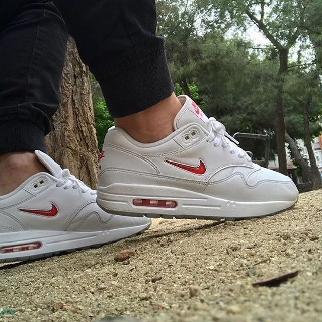 timeless design 57f83 3a2c6 What is your favorite Jewel Air Max 1 colorway  By  carlescampama Click the link  in our bio to shop. Make sure to follow  getswooshed.