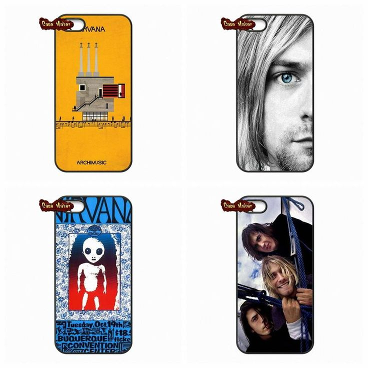 For iPhone 4 4S 5S 5 5C 6 6S Plus Samsung Galaxy S3 S4 S5 MINI S6 Plus LG G2 G3 G4 Dave Grohl Kurt Cobain Nirvana Case Cover