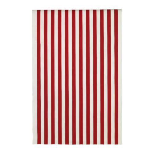 Ухань покупке подлинного магазина IKEA в Софии ткани, широкие полосы, красные / белые шторы