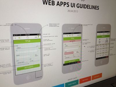user interface design guidelines for mobile applications
