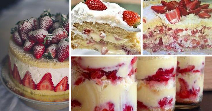 Este é um bolo que está a fazer imenso sucesso. Bolo de mousse de morango é perfeito para servir em festas e ocasiões especiais. Pode ainda fazer esta deli