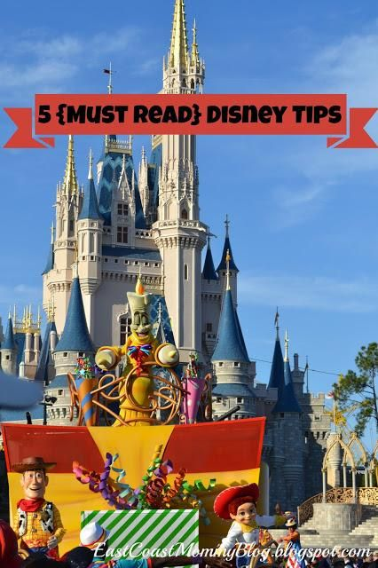 5 Disney Vacation Tips #WaltDisneyWorld