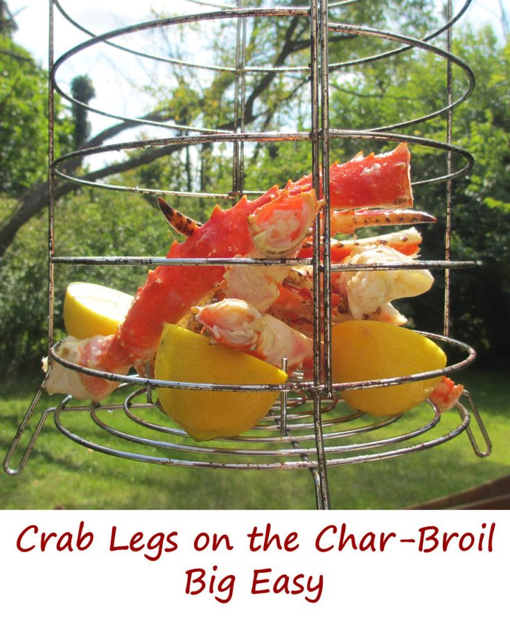 I don't have to have my arm twisted to make and eat crab legs. Ever. I love them. So whenever wild-caught Alaskan king crab is on sale, I grab some legs and claws. Anita's not such a big fan of crab (well, she is a fan of the crab meat, it's the sight of the crab appendages that doesn't appeal to her), so I saved these crab legs made on the Char-Broil Big Easy for my own mid-week lunch.