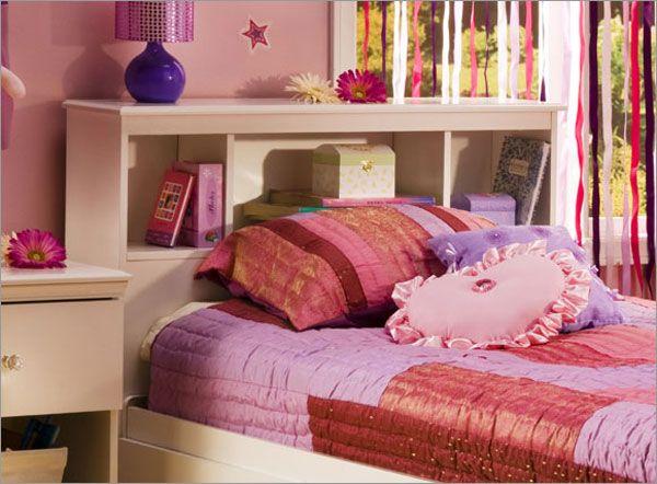 American Furniture Warehouse $59 Crystal Bookcase Headboard