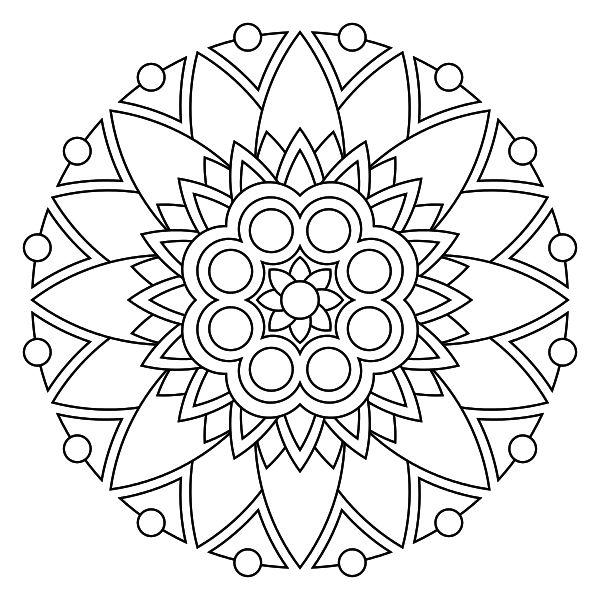 Mandala para imprimir 03 - La Guía de Mandalas