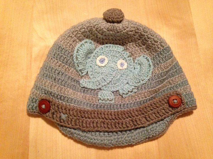 Newsboy Elephant Hat