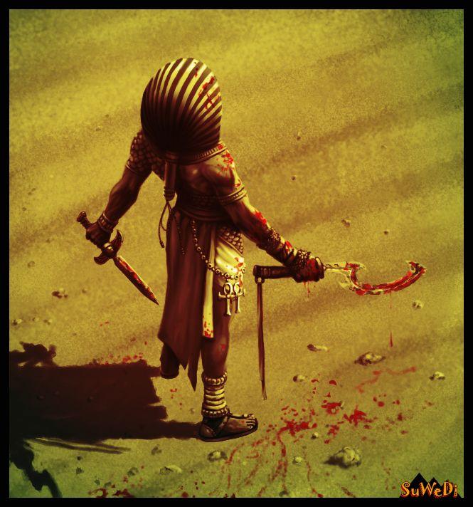 Kemet-war Pharaoh by ~LeeReex on deviantART   Fantasy ...