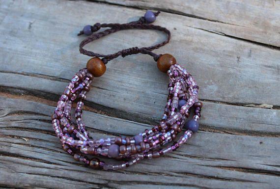 Traditional Beaded Bracelet  African Bracelet  Adjustable