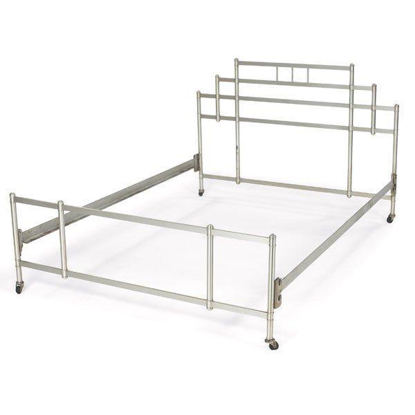 warren mcarthur aluminum bed frame c1934
