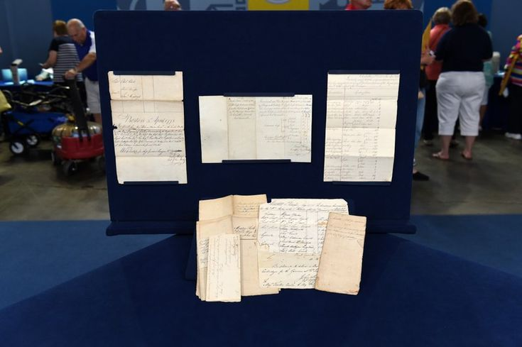 Col. George Wray Revolutionary War Papers -- Antiques Roadshow | PBS