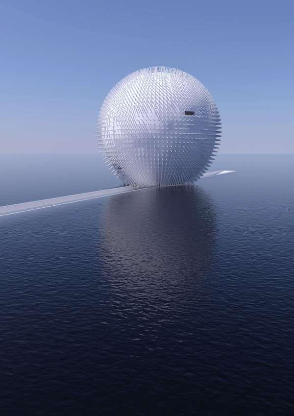 Domantas Stukas Designs Awe-Inspiring Island Architecture #architecture trendhunter.com