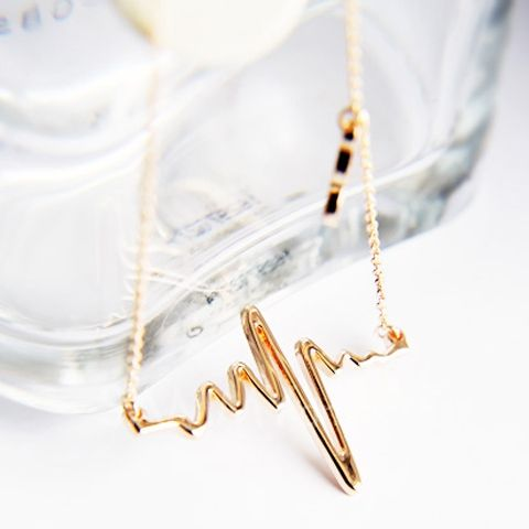 Heart Beat Charmed Necklace