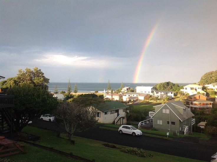 Rainbow at Onemana