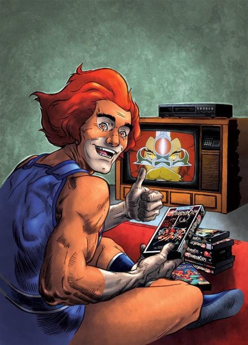 Leon-O Series: Geek Art, Thundercats Ho, Cereal Geek, 80 S Cartoon, The Universe, Geek Pics, Thundercats Art, School Cartoon, Comic Cartoon Gam