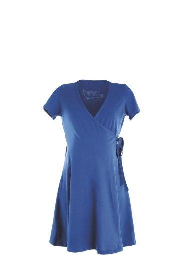 Womama Birthing Wrap Maternity Dress, Organic Cotton