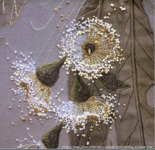 Объемные текстильные картины своими руками