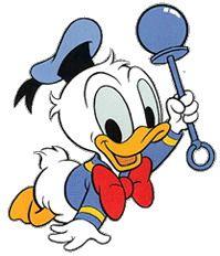 Giochi e disegni da colorare: Clip art Baby Disney: immagini dei personaggi Disney baby: baby topolino, baby minnie, baby winnie, baby titti
